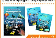 Science - Apologia Zoology 2 / Books and Resources to use with Apologia Zoology 2 - Swimming Creatures