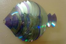 Recykle cd og LP plater