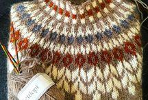 вязание - лопи