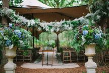 Woodland Wedding Ideas to Hire / Be Inspired with Glamorous Woodland wedding ideas