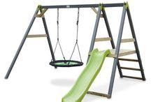 Keinut / Lasten pihakeinu tarjoaa lapsille hauskaa puuhaa!