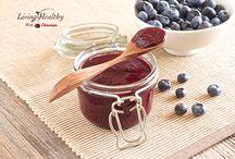Fruit butter blueberry