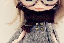 Blythe dolls sweet yet eerie ❤️❤️