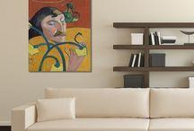 Reprodukcje mistrzów na płótnie / Art Reproductions of Famous Paintings / Wielcy mistrzowie w superreprodukcjach obrazów na płótnie canvas dopełnią aranżacji Twojego domu lub biura