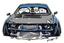 Love Cars Japan (Arte)