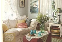 Eclectic country decor
