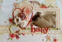 Babies scrapbooking