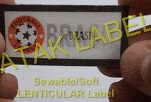 Sof Lenticular Label / Label Manufacturer in Istanbul/Turkey Lenticular Label, Soft Lenticular Label, 3D Label, Sewable Label, Soft Label