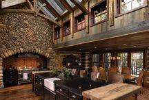 new cabin in Montana