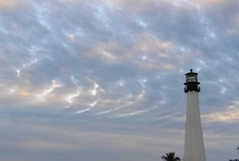 Lighthouses....ones I want to visit in HONOR of my MOMMA