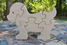 Puzzle - dřevo