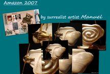 Amazon 2007 sculpture
