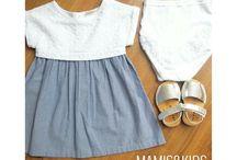 Chuches con Mamisandkids / La zapatería de calzado infantil Mamisandkids siempre nos envía fotos de looks preciosos combinados con zapatos Chuches. ¿Te gustan?