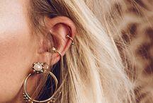 piercings/earrings