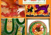 Fall Ideas in PreSchool