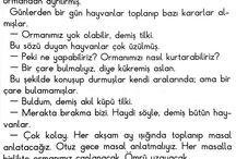 Türkçe metinler
