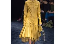 Горчичные платья