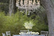 Garden Wedding Ideas / Gorgeous ideas for a garden wedding party or bridal shower