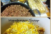 Hamburger Recipes / by Lisa Edgar
