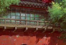 Ghibli landscapes