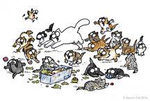 Cat's Corner / Wir finden - frei nach Loriot: Katzen sind einfach unentbehrlich für das gemütliche Heim!