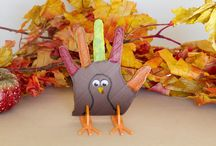 3D Printed Thanksgiving / Enhance your 3D prints with a little post production work.