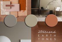Earth Tones TREND. ITALIANBARK / Earth tones interior trend: earth interiors, sand beige terracotta home decor