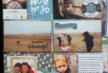 my own project life / project life, scrapbook