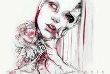 Horror illustrationer