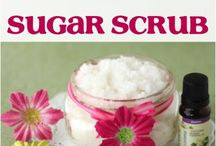 bath salts & scrubs