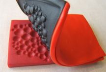 how to make bead from clay