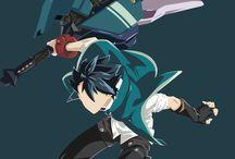 God eater / Adoro as espadas desse anime foi amor a primeira vista