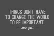 Quotes / Inspiration & Motivation