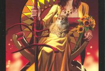 tarot: queen of wands