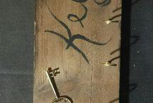 porta chiavi da parete