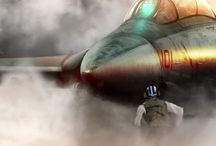 fighter jets / by Donovan Britton