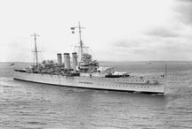 British heavy cruisers (HMS County classe)