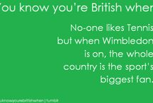 Typisch British - Typically British / What's typically for British people, british people, living in Britain, British tradition