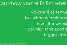 Typisch British - Typically British / What's typically for British people, british people, living in Britain, British tradition
