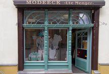 Eindrücke / Bekommen Sie erste Eindrücke vom Modeeck Menger!