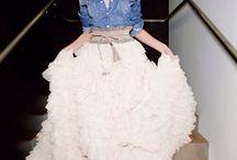 Spódnice dla Panny Młodej / Zamiast typowej sukienki może sprawdzić sie spódnica i bluzka :)