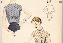 Patterns: Vintage / Some of our vintage favorite sewing patterns.