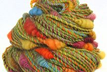 Cool threads/yarns/dyes / by Julie Steigerwalt