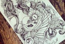 Desenhos tatuagens masculinas