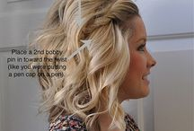 Hair ideas! / by Kellie McLaughlin
