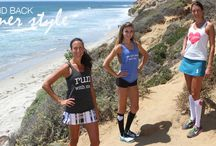 """Run """"Tease"""" Ecotanks / New comfy racerback tanks made from cozy super soft blend of organic cotton, recycled polyester and natural rayon."""