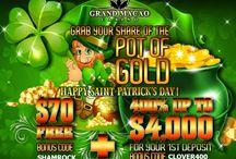 St.Patricks Day Casino Bonus