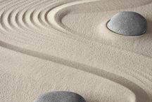 Zen   Zen garden. Wabi sabi