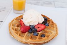 Traditional / Our selection of traditional waffles.
