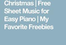 Free Sheet Music / Xmas